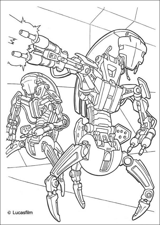STAR WARS coloring pages : 70 Star Wars online coloring sheets ...