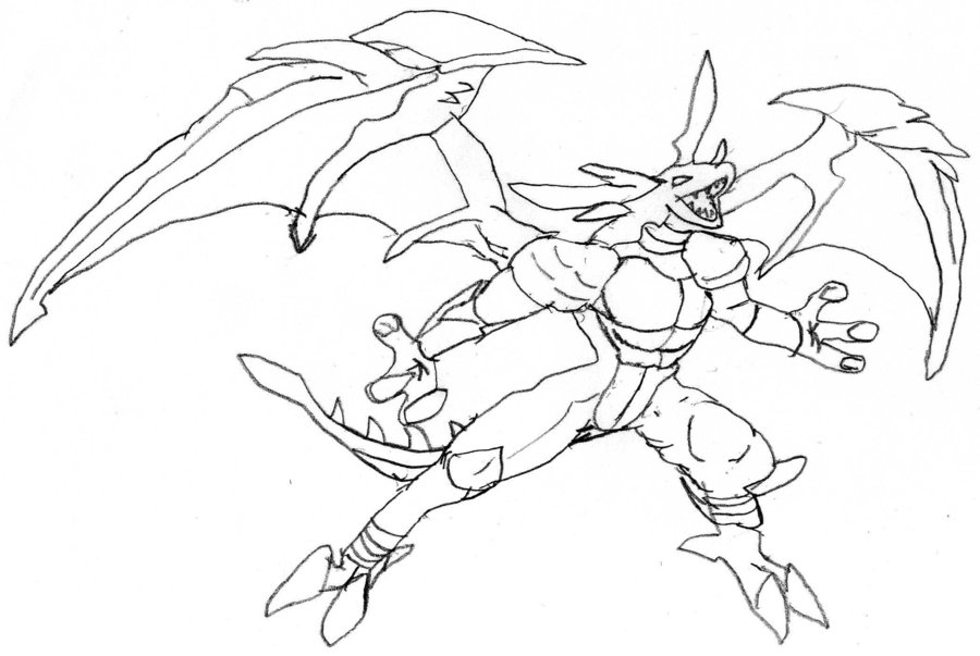 Bakugan Omega Leonidas Sketch by BradRy on DeviantArt