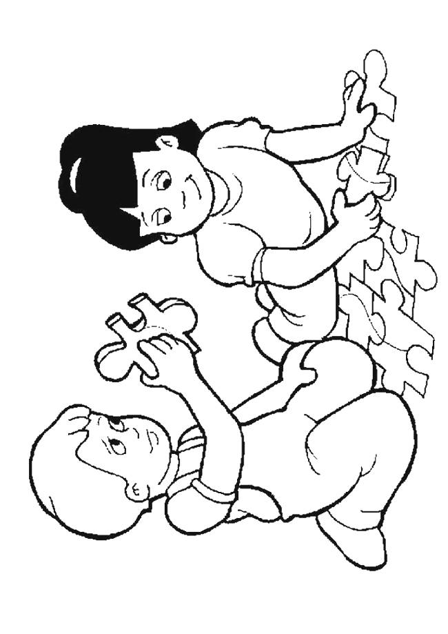 Kindergarten Coloring Page - AZ Coloring Pages