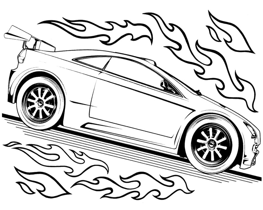 car wheels Colouring Pages (page 3)