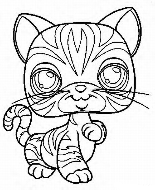 my my little pet shop Colouring Pages (page 3)
