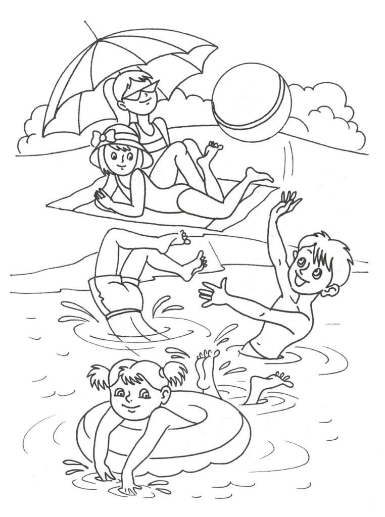 Ausmalbilder Für Kinder Sommer 15 Az Ausmalbilder
