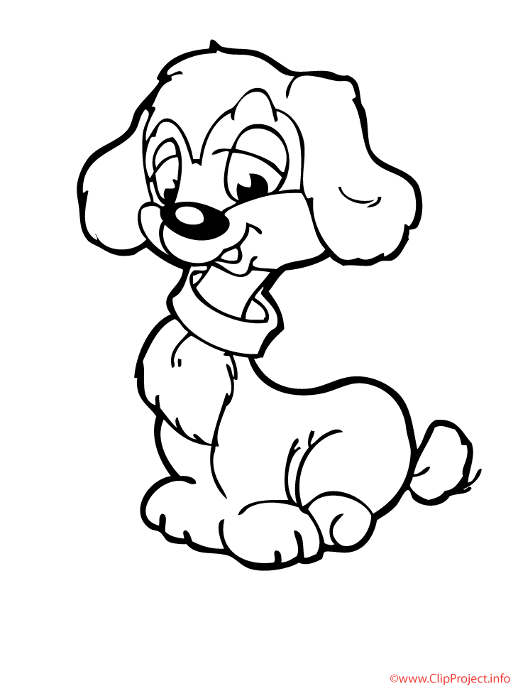 Hunde Colouring Pages