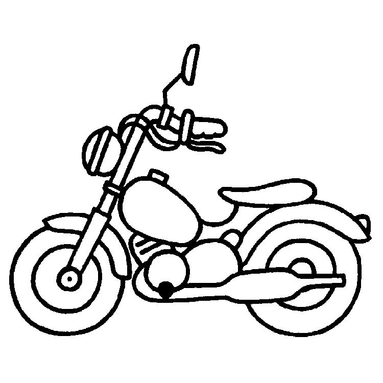 Malvorlage Motorrad Az Ausmalbilder