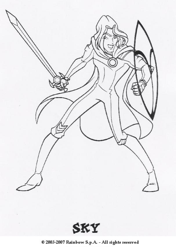WINX CLUB coloring pages : 74 online toy dolls printables for girls