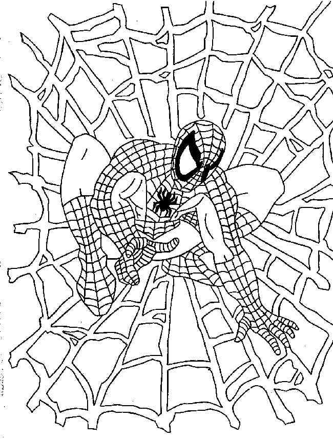 Malvorlagen Gratis Spiderman - AZ Ausmalbilder