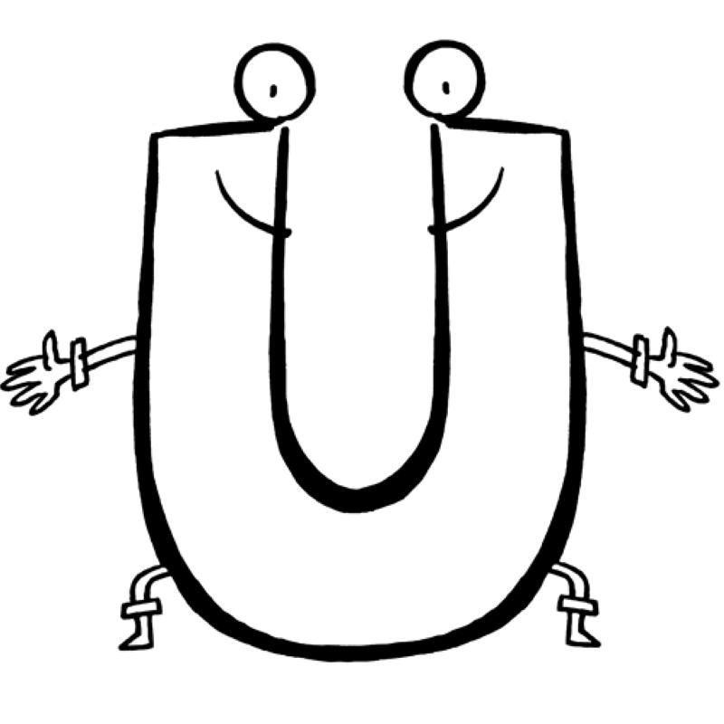 Buchstaben Ausdrucken - AZ Ausmalbilder