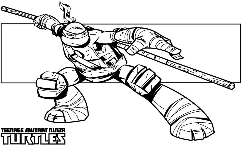 Ninja Turtles Coloring Pages - Coloring For KidsColoring For Kids