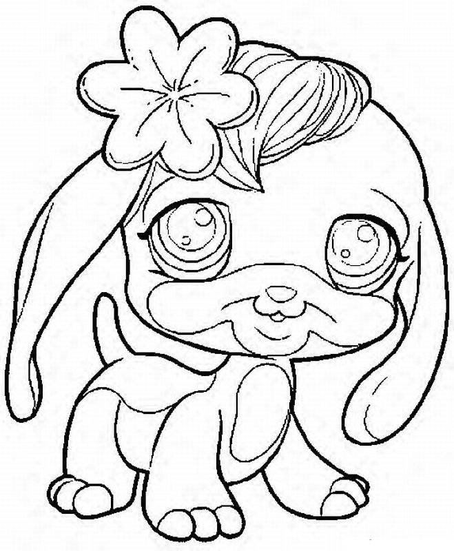 Little Pet Shop Coloring Pages - Free Printable Coloring Pages