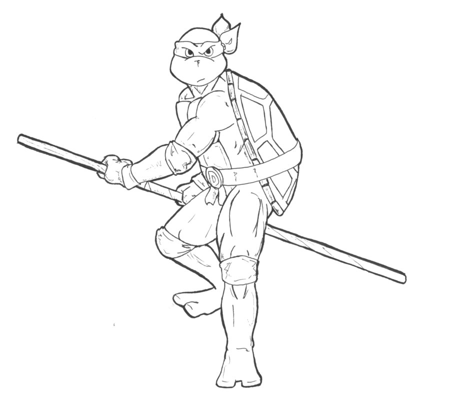 Ninja Turtles Coloring Pages Free Printable Coloring Pages Az
