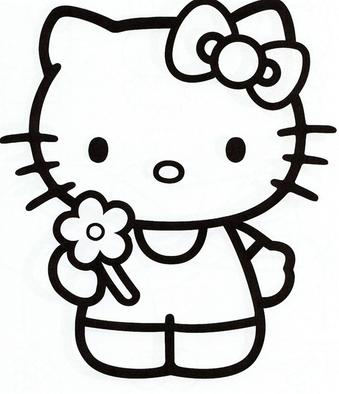 Free Printable hello kitty coloring pages « 1Photo Share