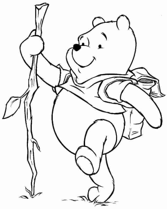 Winnie Pooh Freunde Az Ausmalbilder