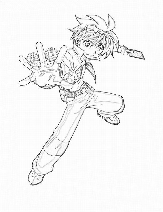 Bakugan Coloring Pages | Draw Coloring Pages