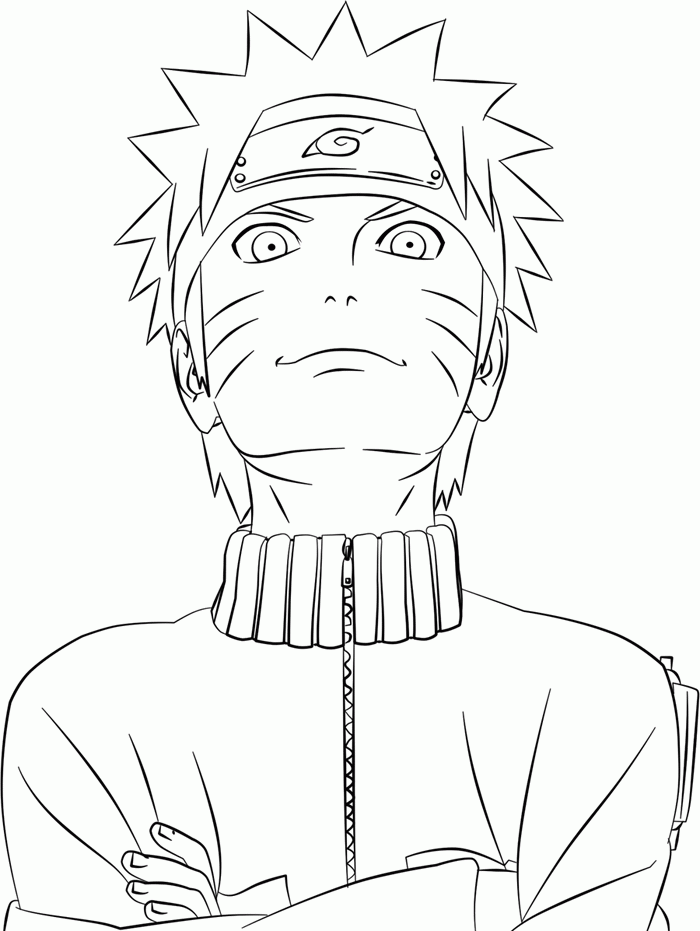 Printable Naruto Shippuden Coloring Pages - AZ Coloring Pages