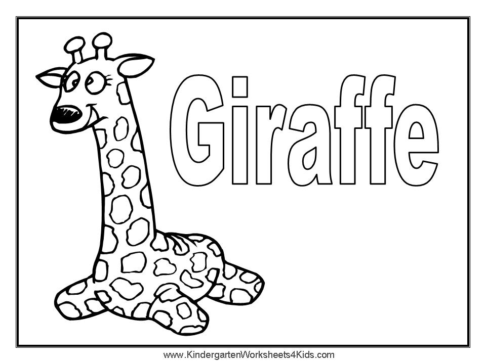 Animal Coloring Cute Baby Giraffe Coloring Giraffe Coloring Page