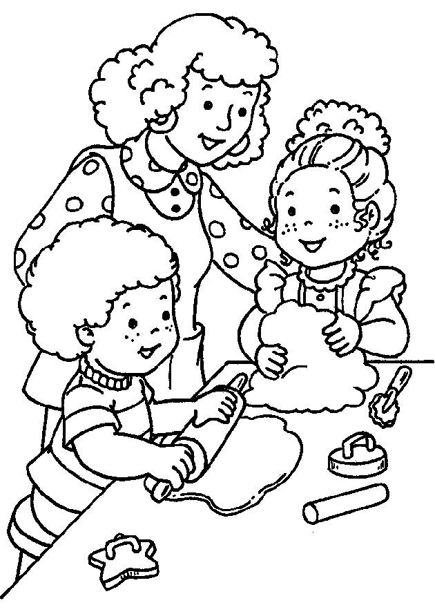 Coloring pages kindergarten - picture 16