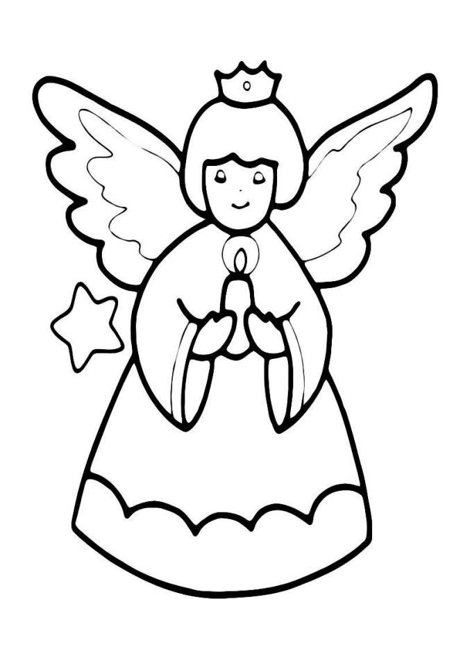 Engel Vorlage Umrisse Engel Vorlage Weihnachten