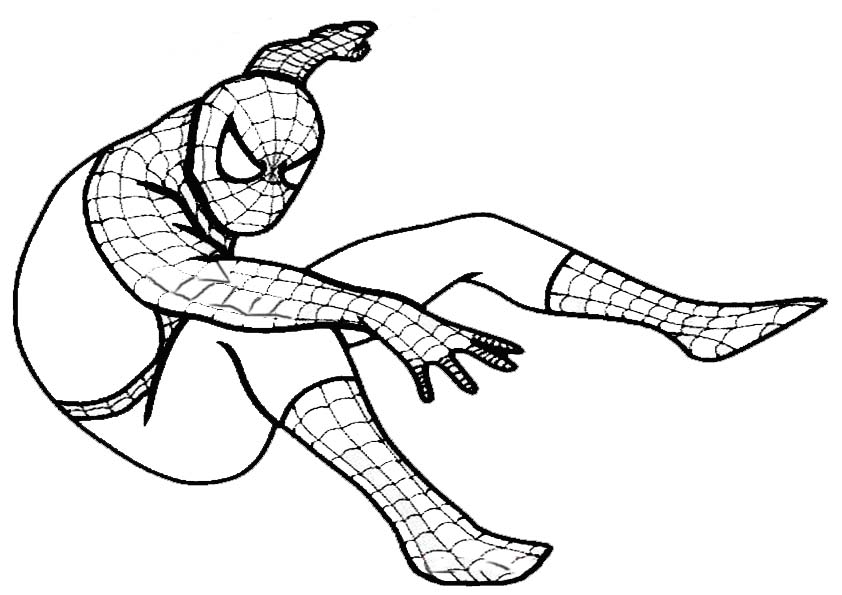 Spiderman Ausmalbild Az Ausmalbilder