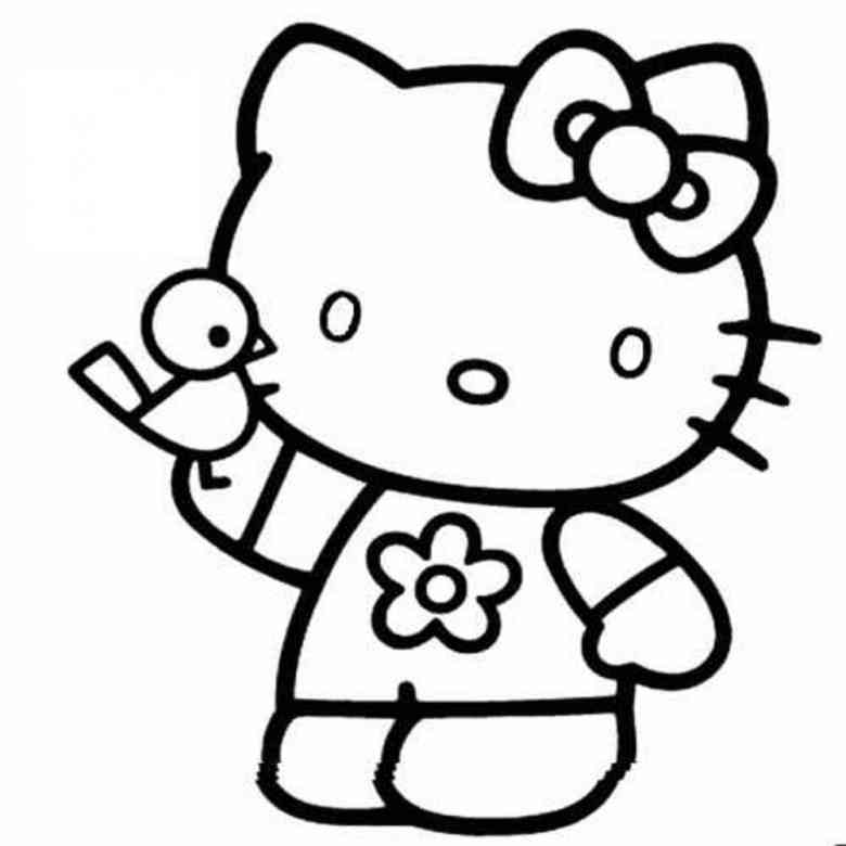 Malvorlagen Hello Kitty