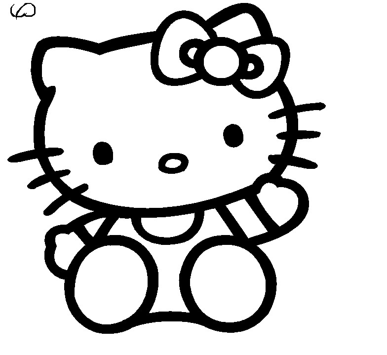 Coloring Pages hello kitty | Coloring pages wallpaper