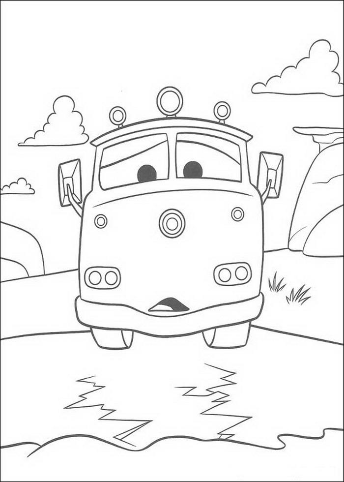 Gratis Malvorlagen Cars Az Ausmalbilder