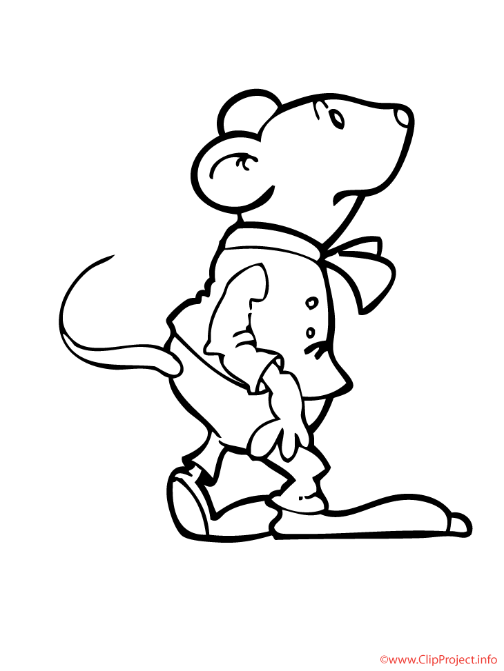 del maus Colouring Pages