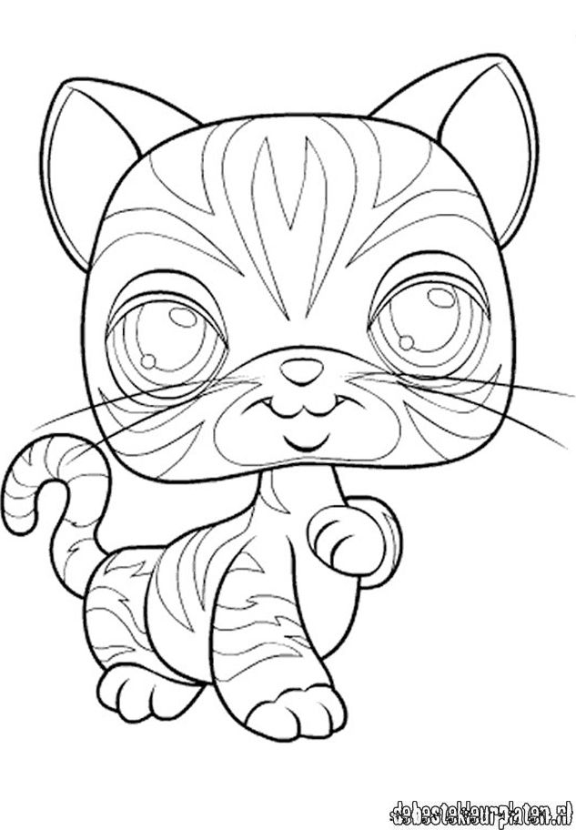 Littlest Pet Shop coloring pages - Free printable coloring pages