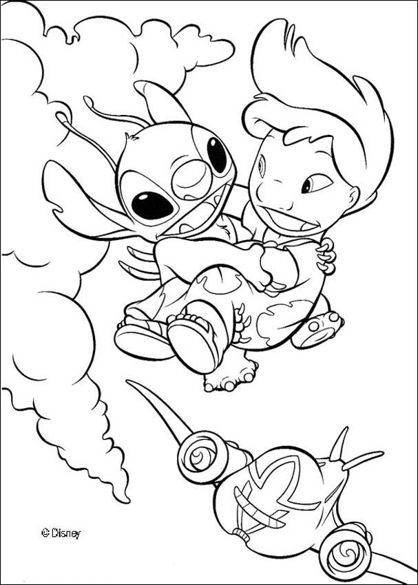Lilo and Stitch coloring pages : 33 free Disney printables for ...