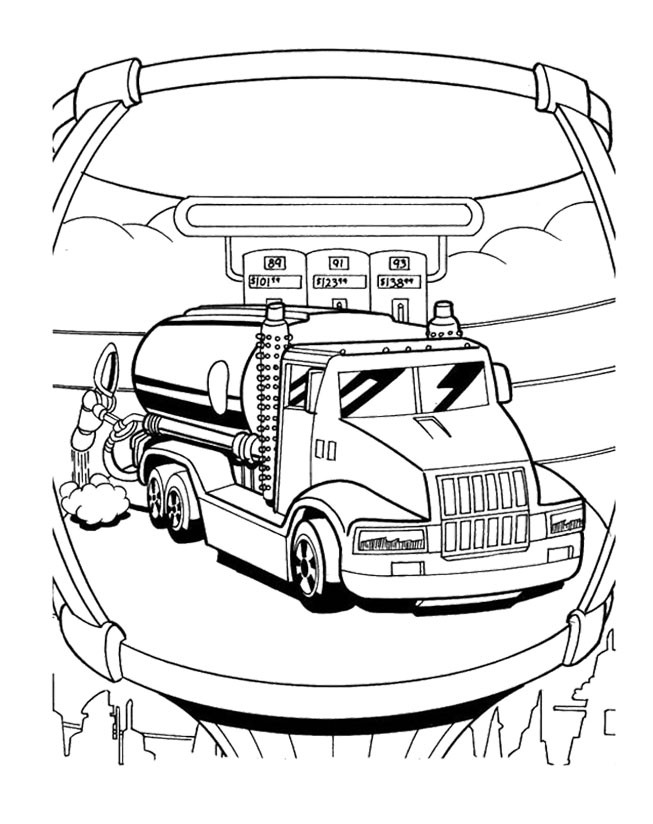 wheels combat 5 Colouring Pages