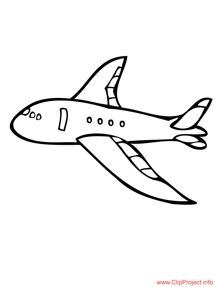 flugzeug Colouring Pages (page 2)