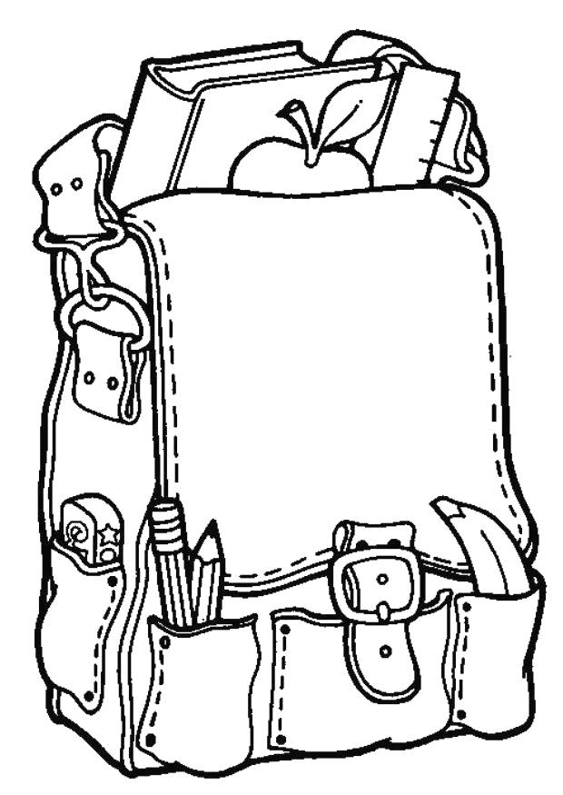 Coloring pages kindergarten - picture 1