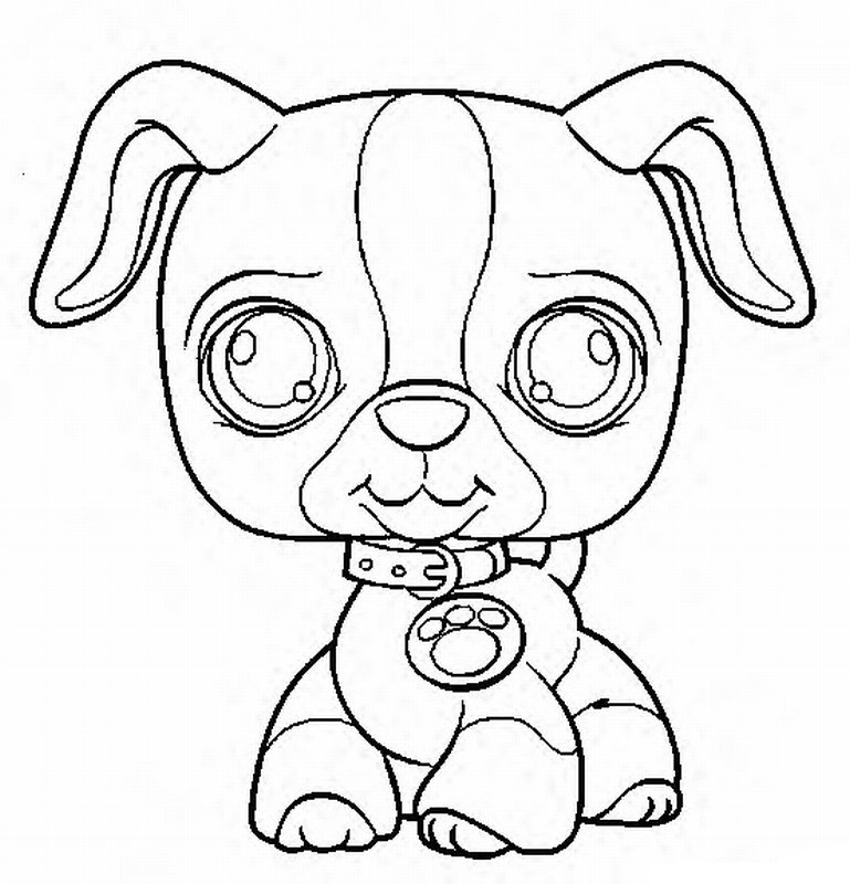Little Pet Shop Coloring Pages 22 - Free Printable Coloring Pages