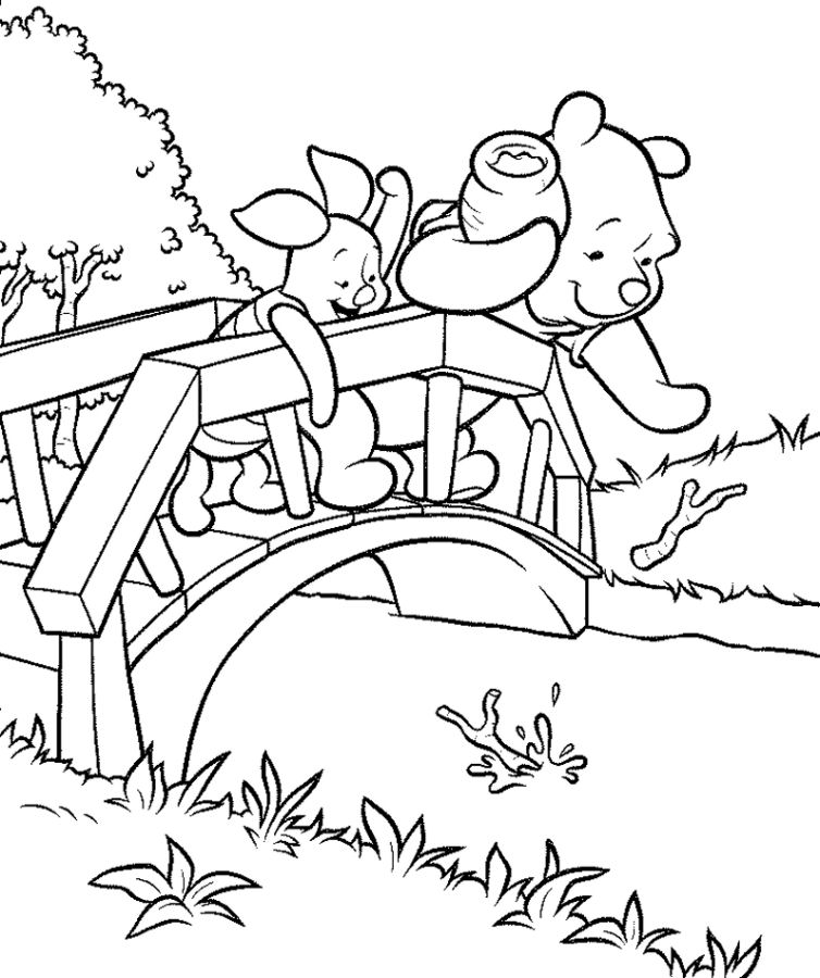 Winnie the Poo comer miel Colouring Pages (page 2)