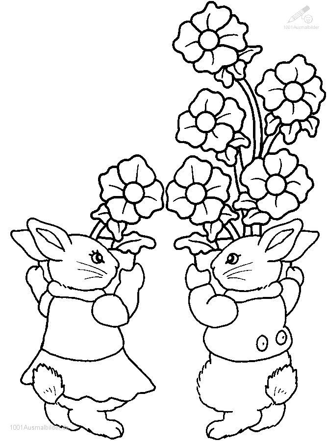 fruhling Colouring Pages (page 3)
