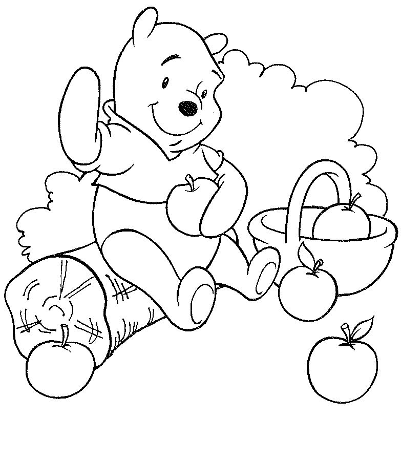 conejo de Winne the pooh Colouring Pages (page 2)
