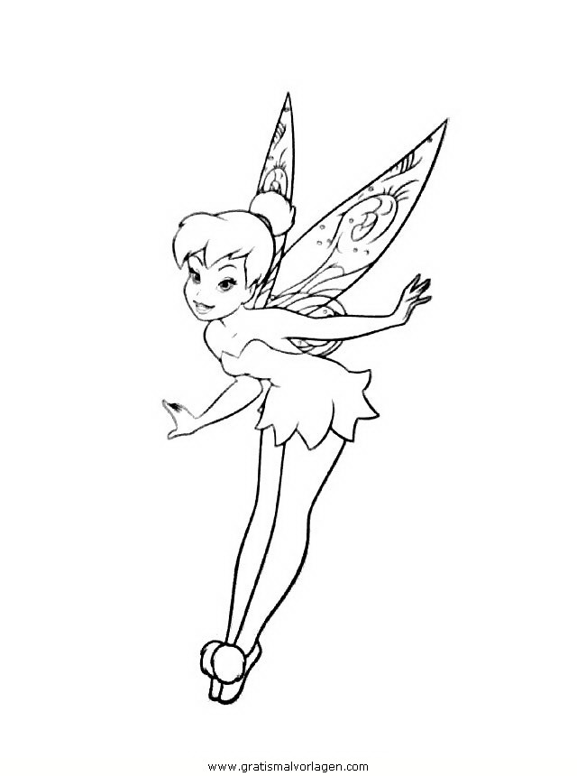 TINKERBELL MALVORLAGEN | Coloringpages321.
